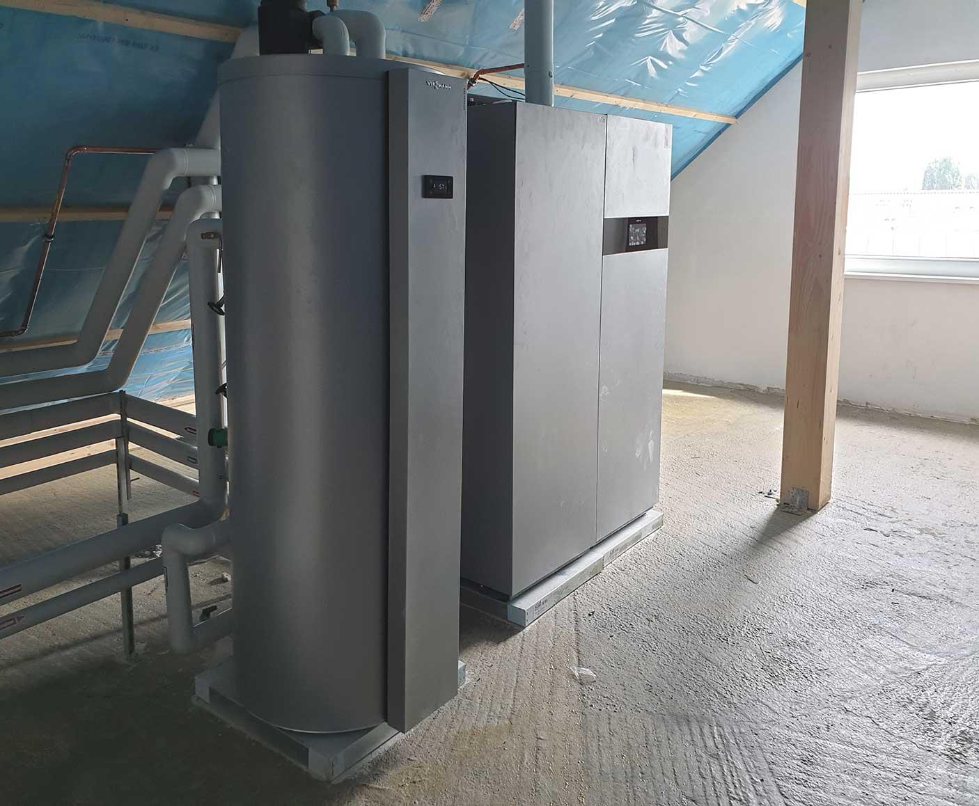 Wärmepumpe und Brennstoffzelle