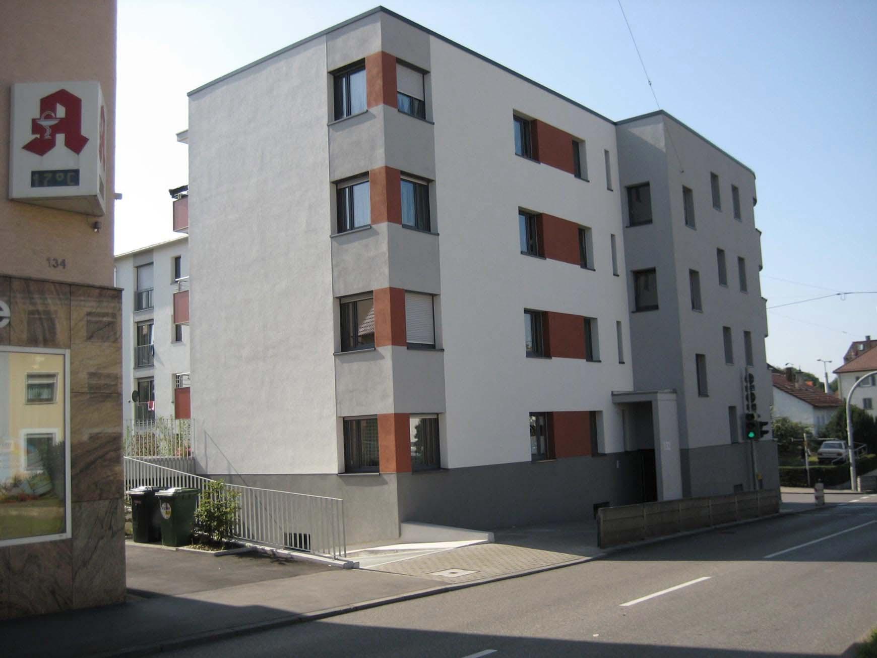 Blick von der Schmidener Straße