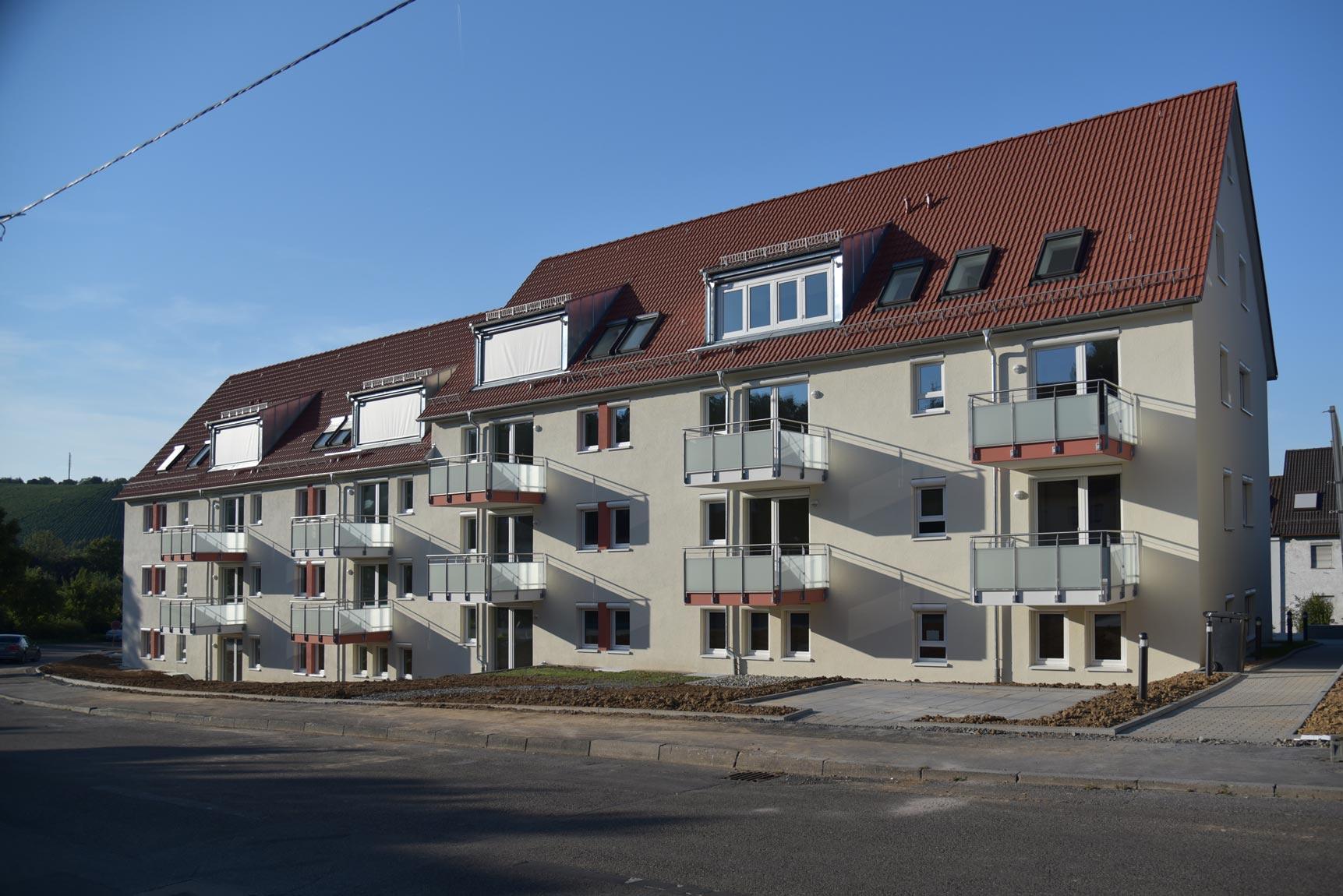 Südseite zur Elbestrasse