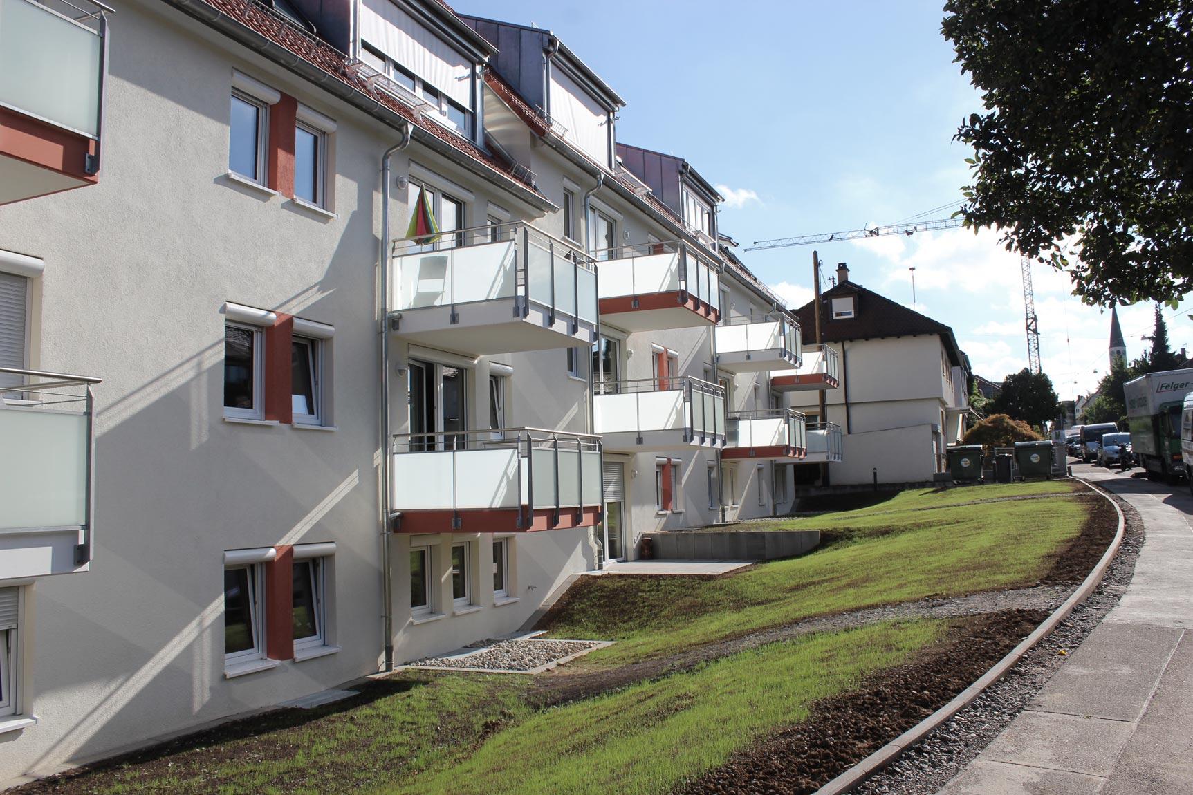 Blick von der Elbestraße