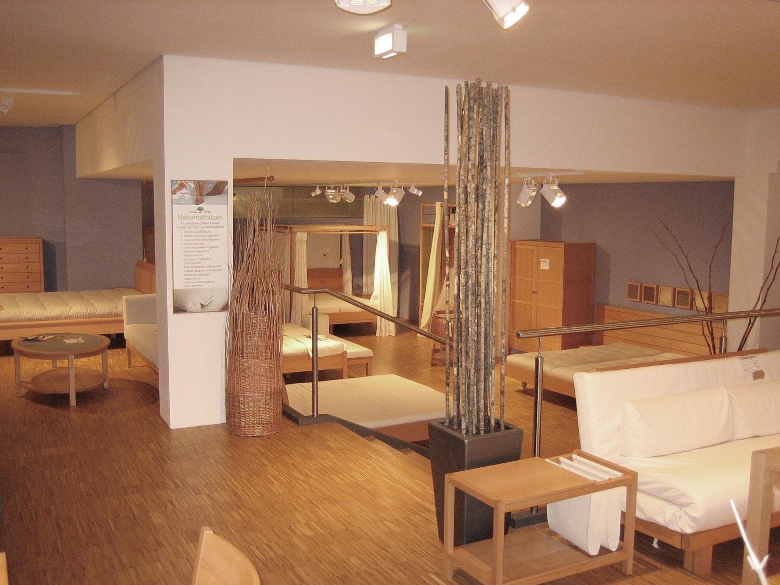 ladenausbau gr ne erde industrie und gewerbebau mader architekten stuttgart. Black Bedroom Furniture Sets. Home Design Ideas