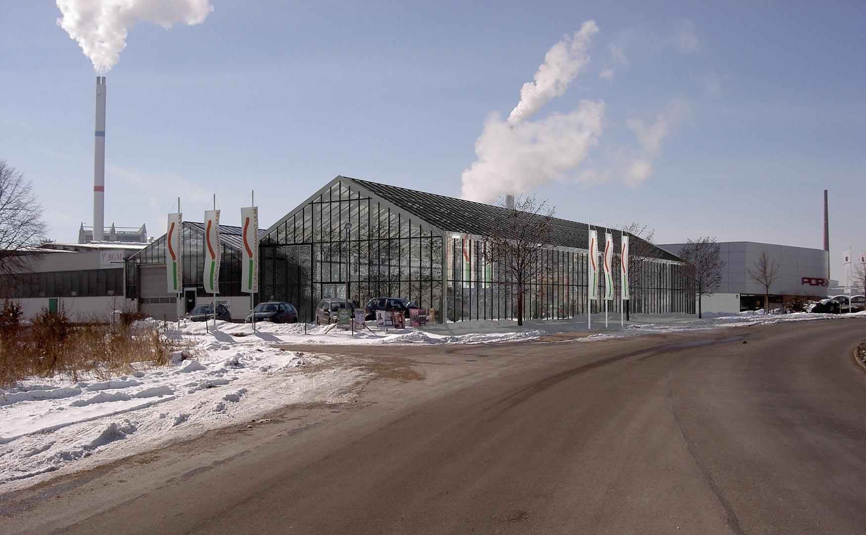 Erweiterung der Markthallen