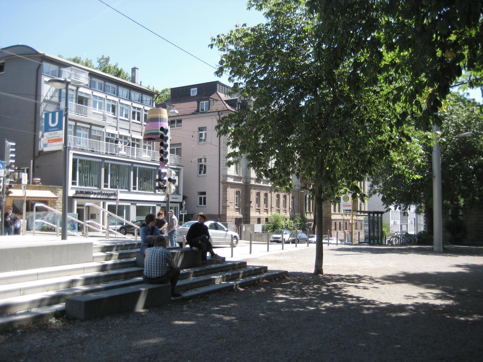 stadtbahnhaltestelle eugensplatz ffentliche bauten. Black Bedroom Furniture Sets. Home Design Ideas