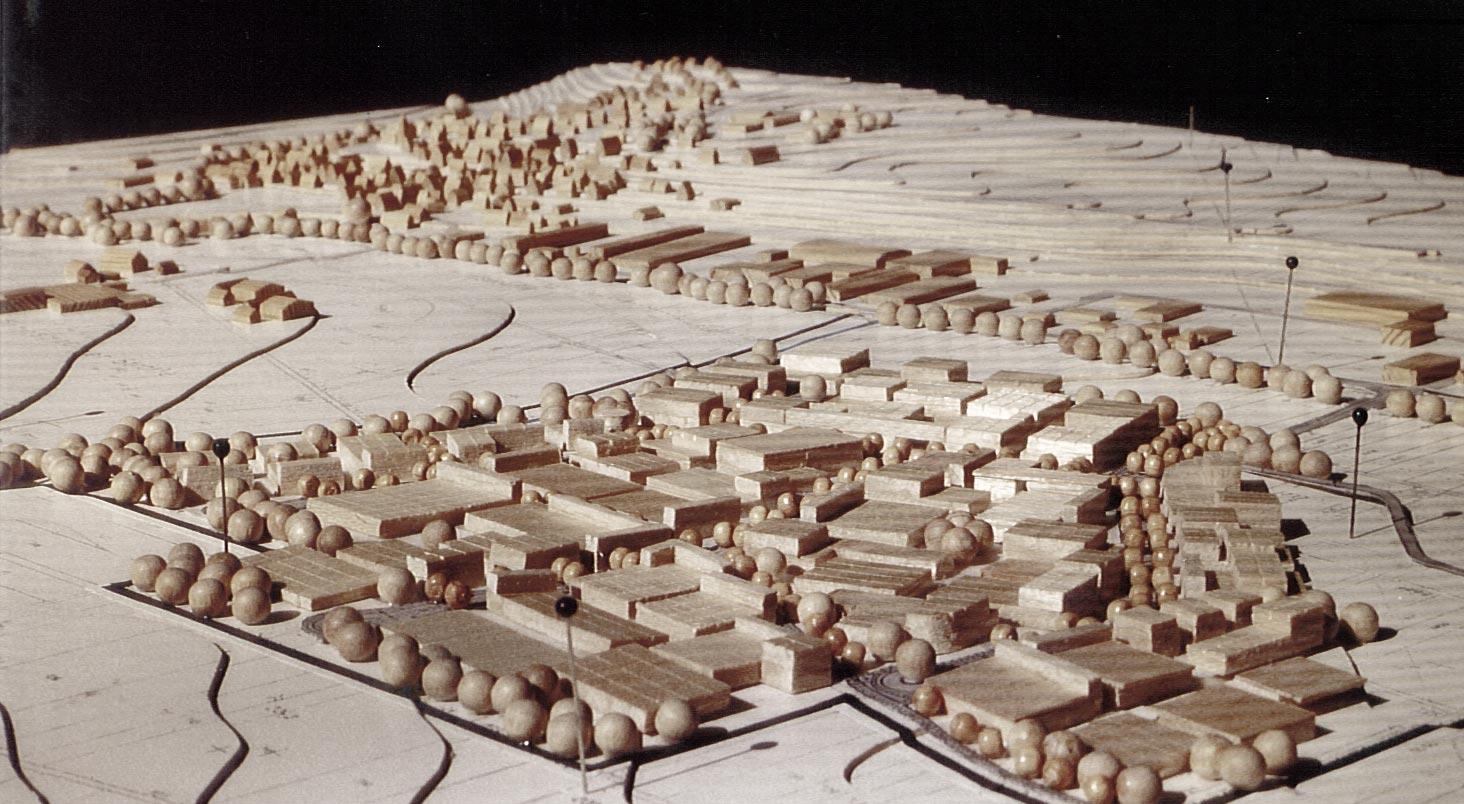 Modell Industriegebiet