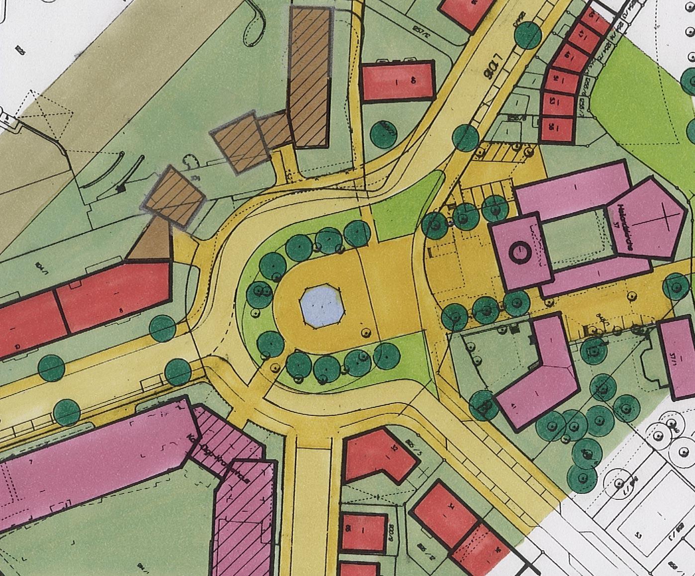 Ausschnitt Rahmenplan Heilandsplatz
