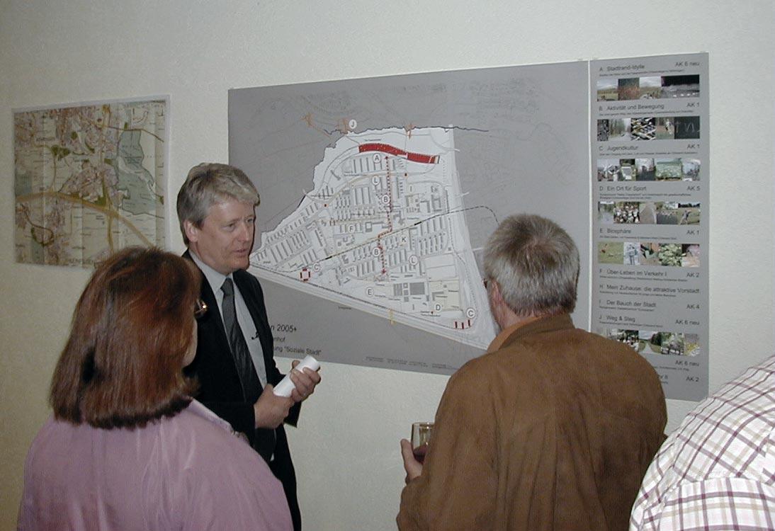 Einbindung der Stadtteilbewohner